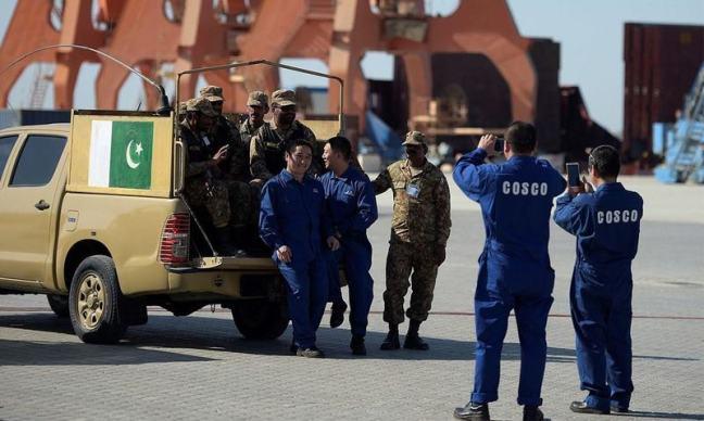 pak army chinese prot