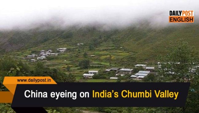 china eyeing chumbi valley