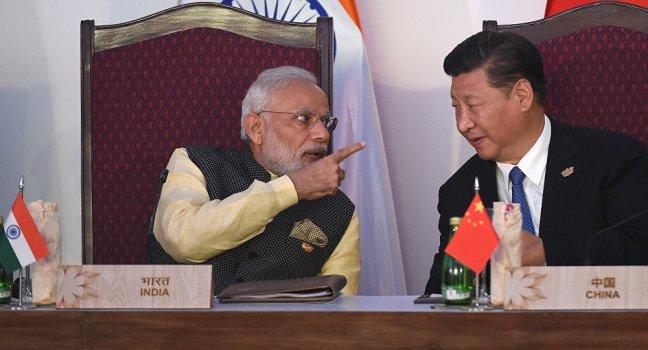 rising China india Tension